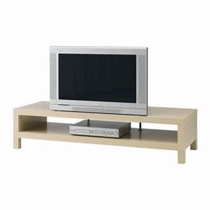 Ikea Table Tv : lack tv unit birch effect ikea ~ Teatrodelosmanantiales.com Idées de Décoration