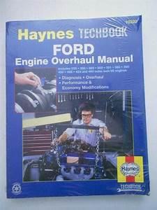 Find Haynes Techbook 10320 Ford Engine Overhaul Manual