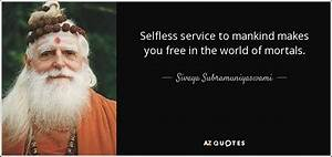 TOP 15 SERVICE TO MANKIND QUOTES   A-Z Quotes