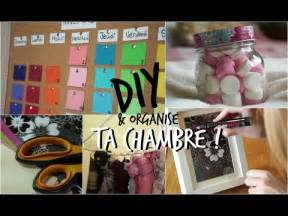 Relooker Sa Chambre Diy by Diy D 233 Core Et Organise Ta Chambre Youtube