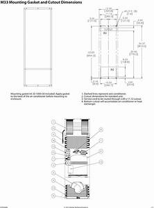 Pentair Electronic Enclosure Air Conditioner Wiring Diagram