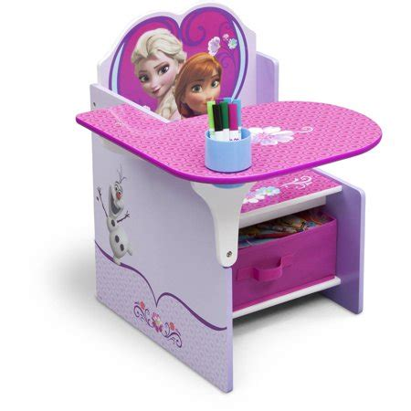 chair desk with storage bin delta children frozen chair desk with storage bin
