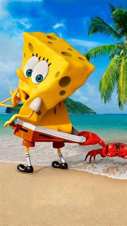 Spongebob Water Sponge Phone Getting Squarepants
