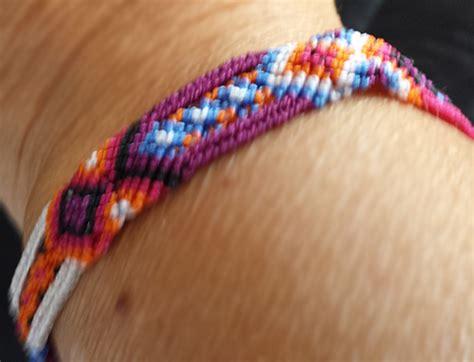 woven multi color bracelet schools  chiapas