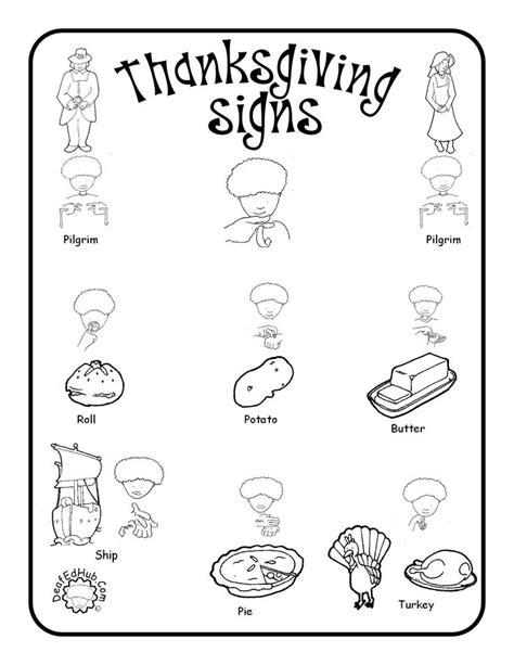 13 best sign language worksheets images on