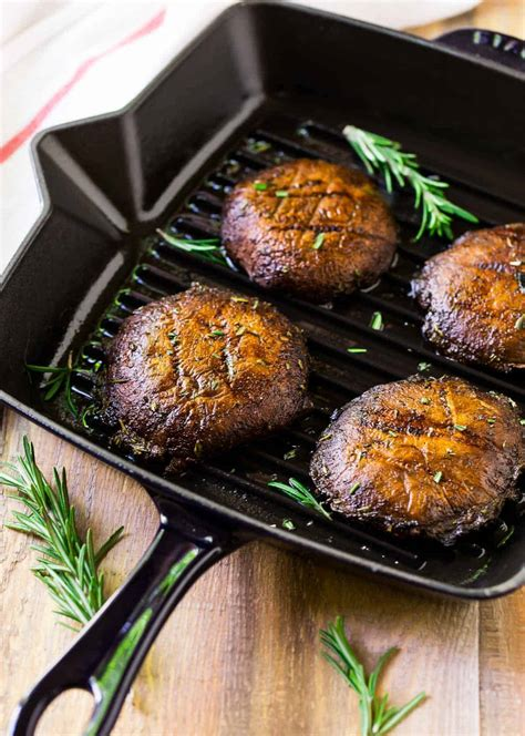 grilled portobello mushrooms  easy marinade