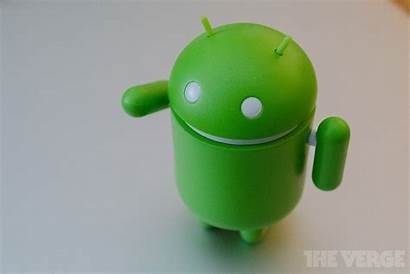 Android Google Phone Send Doll Mascot Nearby