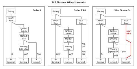 s6 alternator wiring rx7club mazda rx7 forum