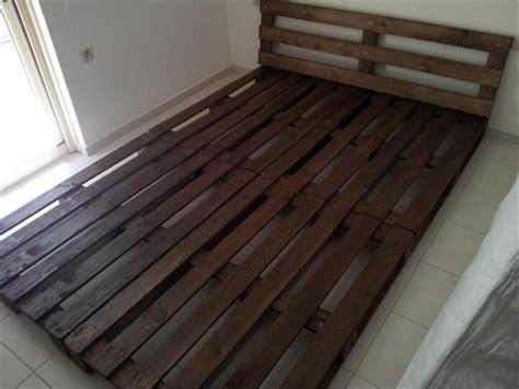 pallet bed platform platform bed made from pallets 99 pallets