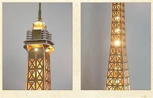 Cubicfun 3D Puzzle L199h Paris Eiffel Tower Paper Model ...