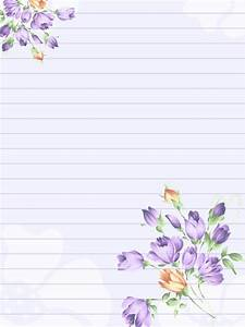 paper with flowers by melissa tm on deviantart With nice letter paper