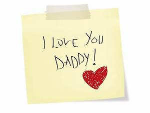 I love you Daddy - Fathers Day PPT Backgrounds - Design ...