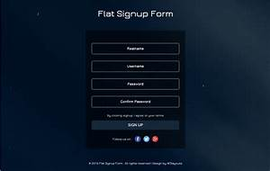 90  Best Free Html5 Form Templates 2019