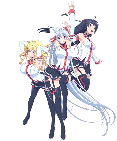 Masou Gakuen Hxh Tv Anime Masou Gakuen Hxh Anime Visual