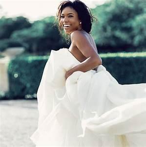 gabrielle union shares wedding dress wedding thingz With gabrielle union wedding dress