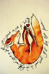 fox ♡ on Pinterest | Fox Tattoos, Watercolor Fox and David ...