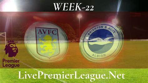 Brighton and Hove Albion vs Aston Villa live stream | EPL ...