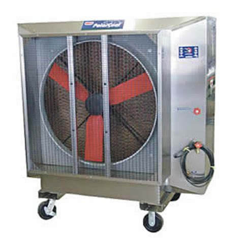 box fan sw cooler a blizzard in a box polar cool s 48 evaporative cooler