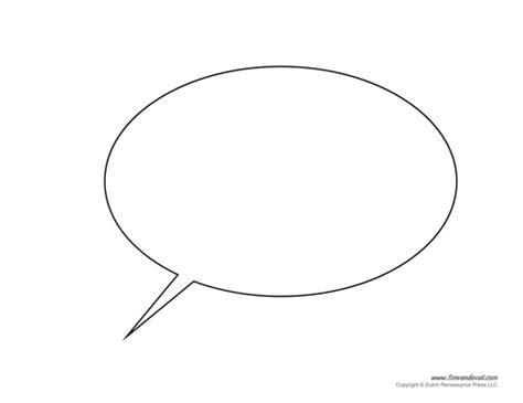 conversation baloon template free printable speech bubble templates pdf format
