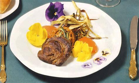 edible flower cuisine  gorgeous food
