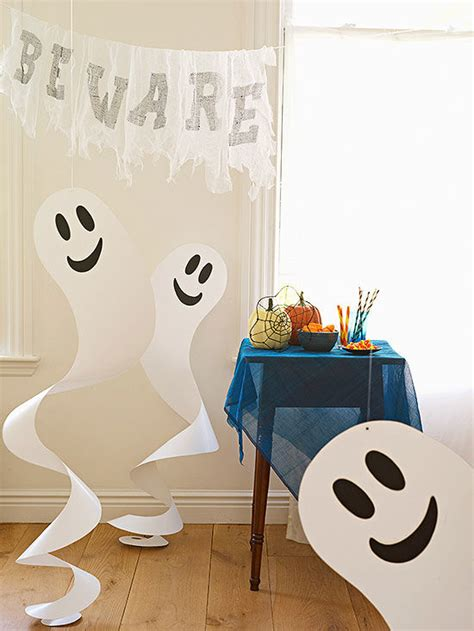 quick  easy halloween paper crafts