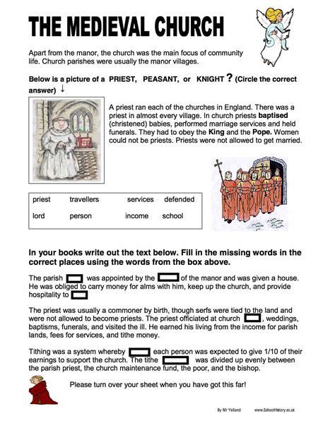 Free History Worksheets Ks3 Ks4 Lesson Plans Resources