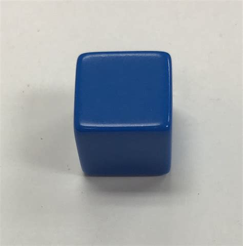 16mm 6 Sided Blank Dice