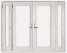vented sidelight patio doors neuma doors manufacturer