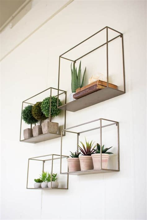 50 amazing floating shelves to create contemporary wall displays