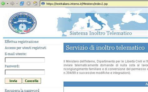 Www Test Italiano Interno It Testitaliano Interno It Portale Immigrazione