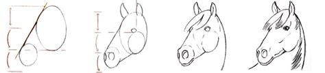 comment dessiner  cheval crayons  pinceaux