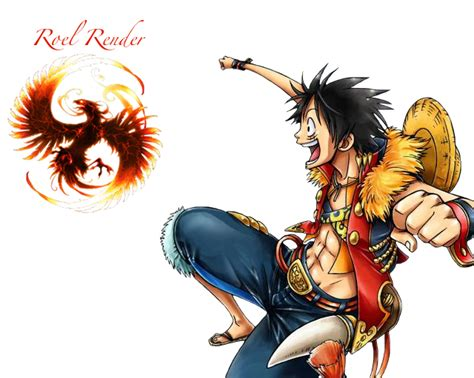 Monkey D Luffy Render 1 By Roronoaroel On Deviantart
