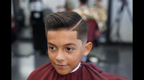 barber tutorial  comb  drop fade youtube