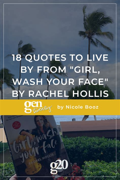 quotes     girl wash  face  rachel