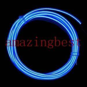 Hign brightness El neon wire hot sale Diameter3mm H3 1