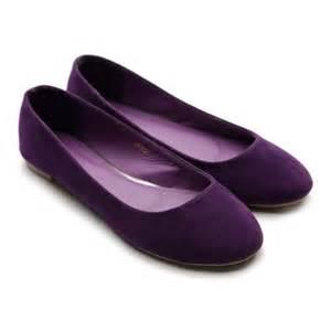 Purple Flat Wedding Shoes