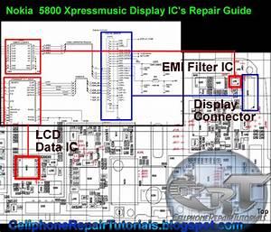 5800 Xpressmusic Lcd Screen Display Problem Repair