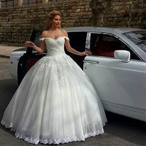 robe de mariee fashion style princess lace wedding dress With wedding dresses princess style