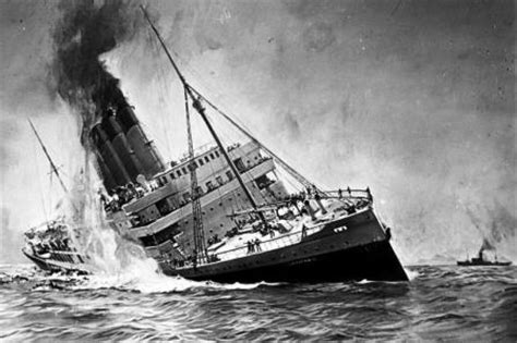 U Boats Ww1 Definition by Sinking Of The Lusitania Ww1 History For