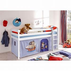 Hochbett Für 2 Kinder : vorhang bettvorhang stoff pirat f r hochbett spielbett kinderzimmer hellblau neu ebay ~ Sanjose-hotels-ca.com Haus und Dekorationen