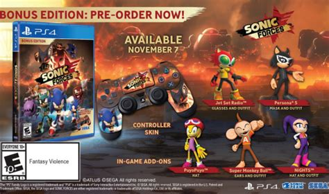 sonic forces release date revealed costs