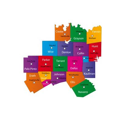 Areas Service Texas Region Covered Map Health