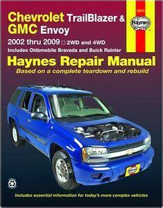 download car manuals pdf free 2002 chevrolet blazer instrument cluster chevrolet trailblazer repair manual ebay