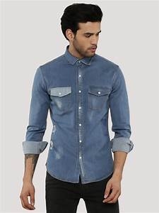 Denim Jeans Shirt For Men | Bbg Clothing