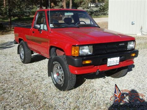 1986 Toyota Truck Pickup 4x4 19,980 Original Miles
