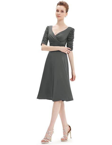Women's Short Vneck Casual Dresses Cocktail Party Dresses
