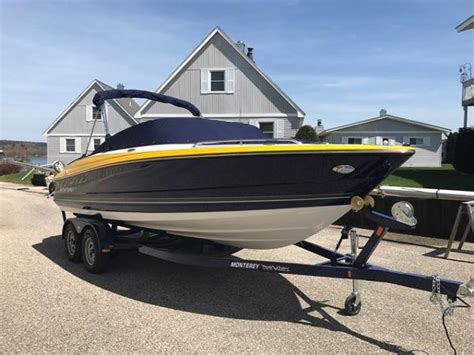 Used Monterey Boats For Sale In Michigan by Monterey New And Used Boats For Sale In Michigan