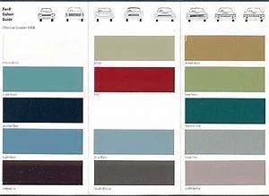 Ford Escort Mk2 Colours