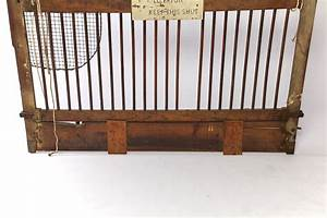 Salvaged, Otis, Elevator, Lift, Gate, Dated, Patent, May, 1904, At