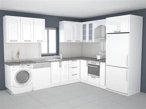 kitchen design 3d model 3d printable model kitchen design cgtrader 4381